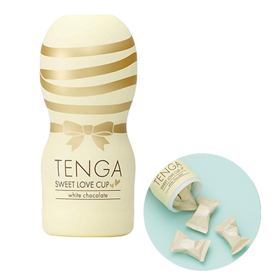 TENGA SWEET LOVE CUP white チョコレート